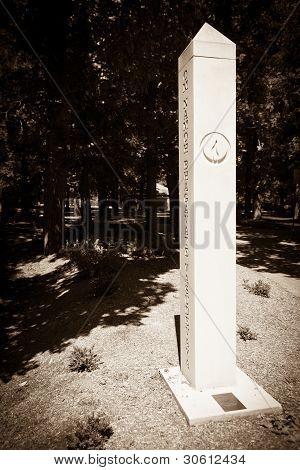 Sepia Tone Spire Glebe Park