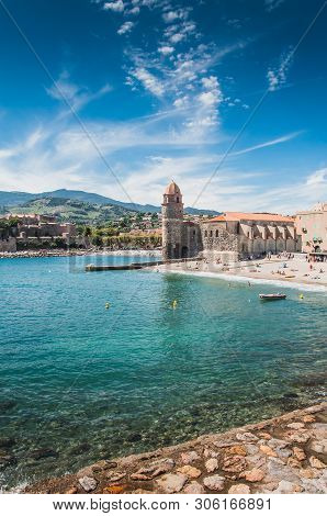Church Of Our Lady Of The Angels In Collioure, France