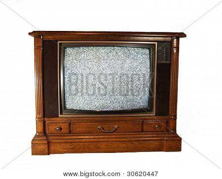 Vintage Console Televison