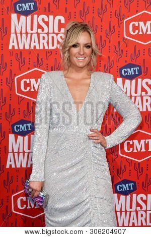 NASHVILLE - JUN 5: Clare Dunn attends the 2019 CMT Music Awards at Bridgestone Arena on June 5, 2019 in Nashville, Tennessee.