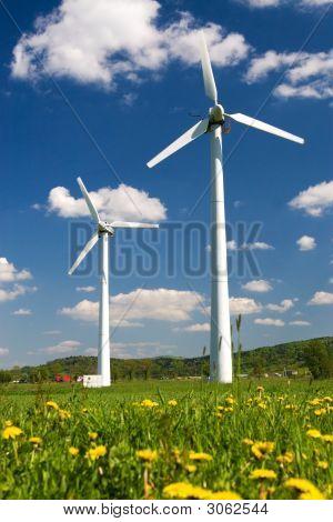 Two Wind Turbines
