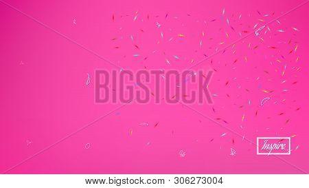Breezy Space Fantasy. Background Texture, Texture. Plain Colorific Illustration.  Pink Colored Backg