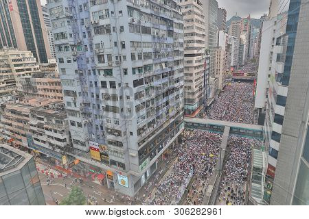 9 June 2019 March Against Hk Extradition Bill