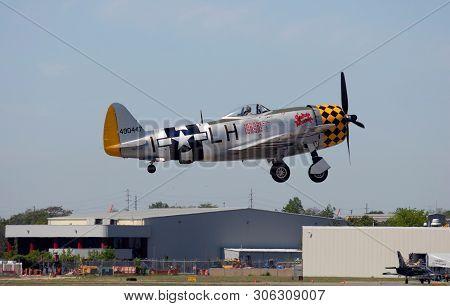 Farmingdale, New York, May 2015 - World War 2 Fighter Plane
