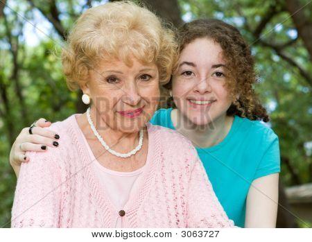 Großmutter & Enkelin