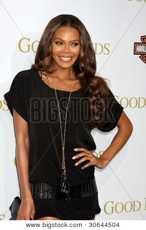 LOS ANGELES - FEB 14:  Crystle Stewart arrives at the