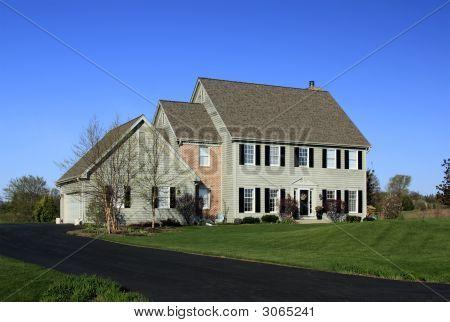 Brick And Wood Homestead