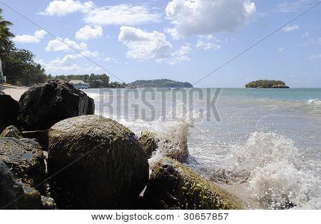 Warfe Beach St. Lucia