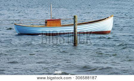 Fishing Boat In The Baltic Sea Denmark