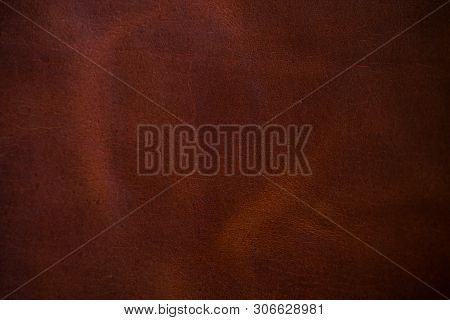 Red Brown Vegetable Tanned Cartier Leather