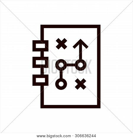 Strategy Icon Isolated On White Background From Web Design Collection. Strategy Icon Trendy And Mode
