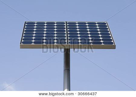 Alternative energy sources - photocell board.