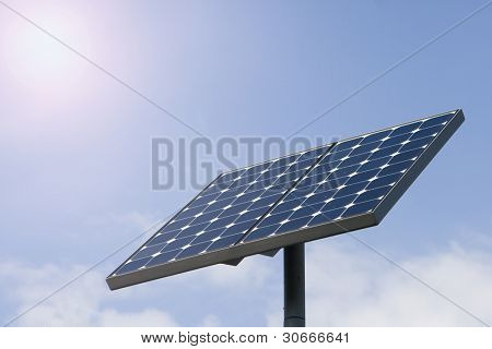 Alternative energy sources - photocell board