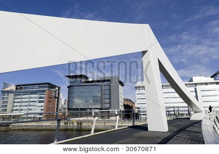 Squiggly Bridge And Financial Quarter