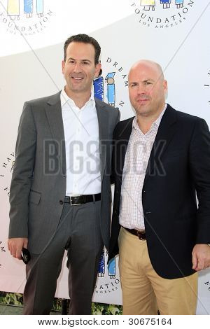 LOS ANGELES, CA - MAR 4: Darryl Frank, Justin Falvey at the I Have A Dream Foundation's 14th Annual Dreamers Brunch at The Skirball Cultural Center on March 4, 2012 in Los Angeles, California