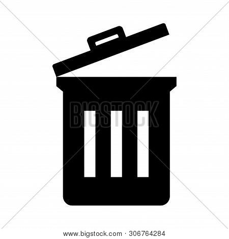 Save Download Preview Trash Icon Isolated On White Background From Photography Collection. Trash Ico