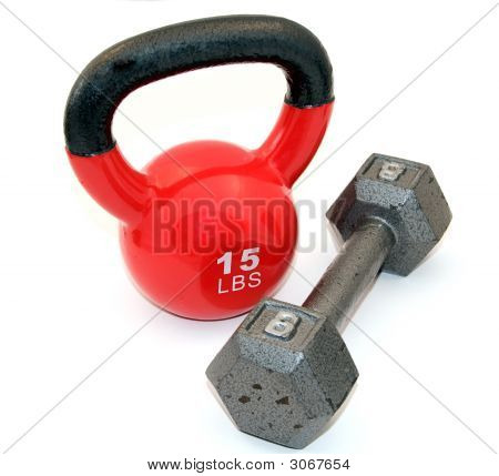 Kettle Bell And Dumbbell