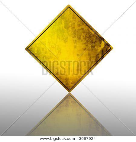 Empty Warning Sign