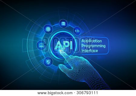 Api. Application Programming Interface, Software Development Tool, Information Technology And Busine