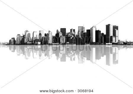 Panorama von Manhattan, New York