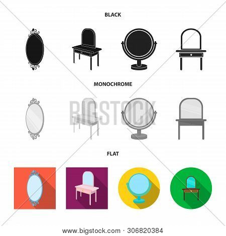 Vector Illustration Of Imagery And Decorative Icon. Collection Of Imagery And Silver Stock Vector Il