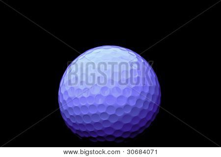 Golf Ball In Detail