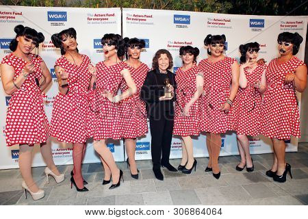 LOS ANGELES - JUN 9: Lily Tomlin, Ernestines at The Actors Fund's 23rd Annual Tony Awards Viewing Gala honoring Lily Tomlin at the Skirball Cultural Center on June 9, 2019 in Los Angeles, CA