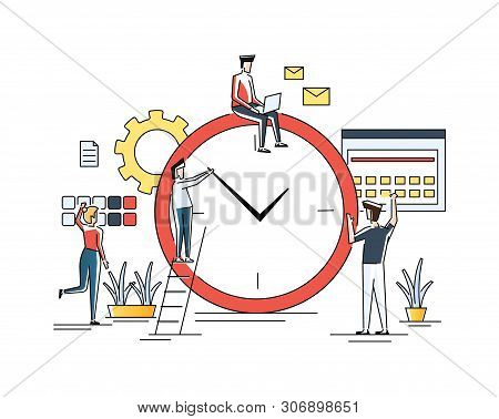 Time Management, Distribution Of Priority Of Tasks, Strategic Planning, Organization Of Working Time