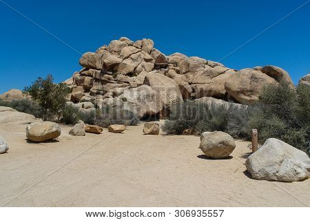 Hidden Valley Campground In Joshua Tree National Park In California, United States