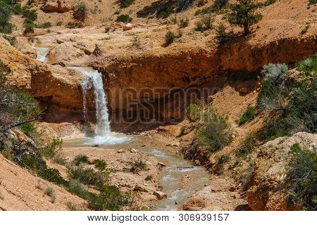Water Canyon In Bryce Canyon National Park In Utah, United States