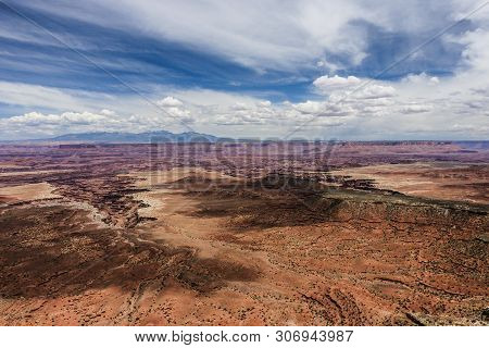 Buck Canyon Overlook In Canyonlands National Park In Utah, United States
