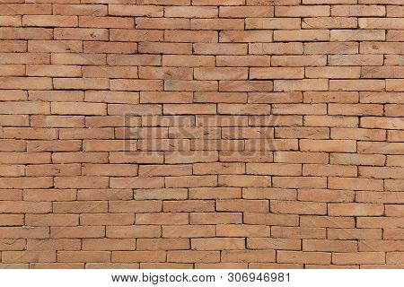 Close Up Vintage Brick Wall For Background
