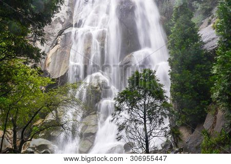 Grizzly Falls In Sequoia National Forest In California, United States