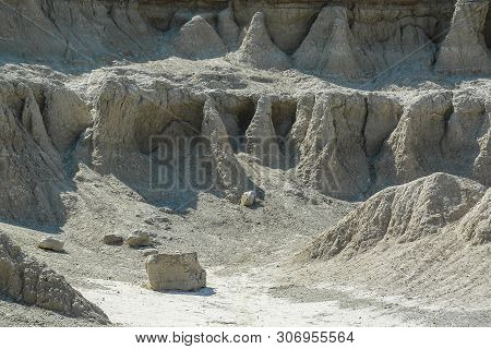 The Window In Badlands National Park In South Dakota, United States
