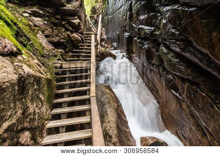 Flume Gorge, Franconia Notch State Park, New Hampshire, United States