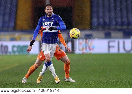 Gaston Ramirez Of Uc Sampdoria  During The Serie A Match Between Uc Sampdoria And Juventus Fc At Sta
