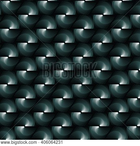 Abstract Pattern Design In Green Gradient Colors, Background And Texture