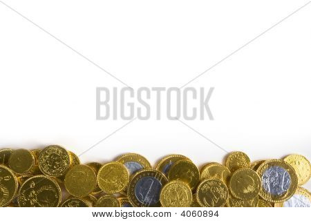 Golden Money Background