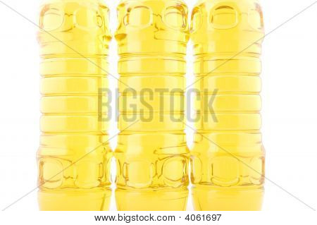 object on white - food seed oil closeup poster