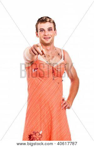 Transvestite Pointing