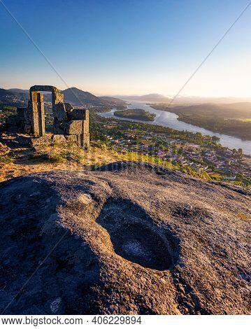 View From Mirador Da Porta Overlook In Portugal