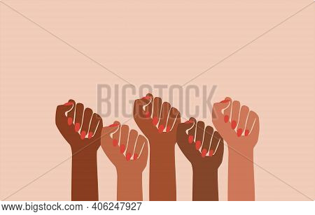 Black Fist People, Brown Power, Black History Month, Female Pride, Black Lives Matter, Feminist Empo
