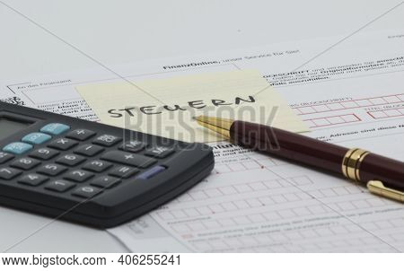 Taxes And Tax Office (irs)