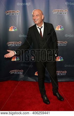 NEW YORK-SEP 16: Howie Mandel attends the America's Got Talent Season 10 Finale taping at Radio City Music Hall on on September 16, 2015 in New York City.