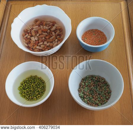 Mixed Beans, Lentils And Peas