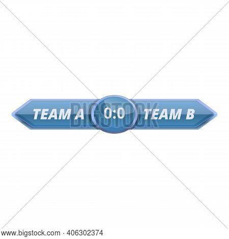 Information Scoreboard Icon. Cartoon Of Information Scoreboard Vector Icon For Web Design Isolated O