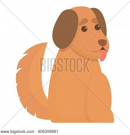 Playful Dog Pose Icon. Cartoon Of Playful Dog Pose Vector Icon For Web Design Isolated On White Back