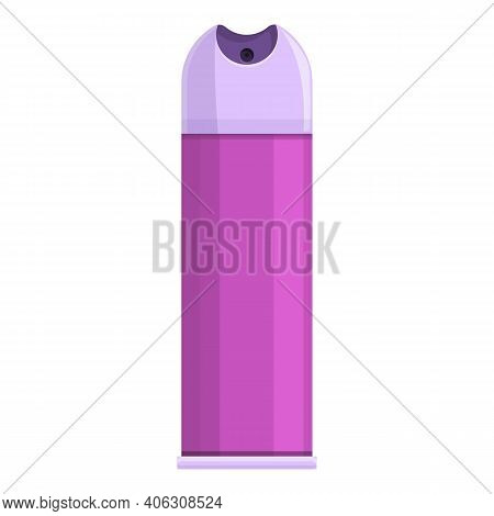 Air Freshener Lilac Icon. Cartoon Of Air Freshener Lilac Vector Icon For Web Design Isolated On Whit