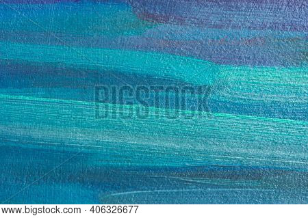 Abstract Multicolored Background With Oil Paint. Hand-textured Background For The Design. A Mix Of T