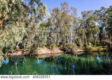 The Jordan River is the famous river in the world. Israel. In Christianity, Jordan is the place of the preaching of John the Baptist and the baptism of Christ